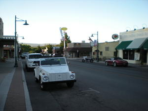 Main Street in Old Town in Cottonwood