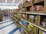 Chipsand other snack food at the 99 Cent Only Store