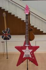 Star shaped guitar in the collection of MIM