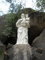 Statue of St. Joseph, in Yarnell, AZ