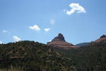 A view from Halfway Picnic Area in Sedona